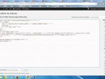 Personnaliser le pied de page d'un thème sur WordPress