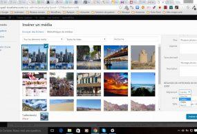 Mettre une image dans du texte sur WordPress